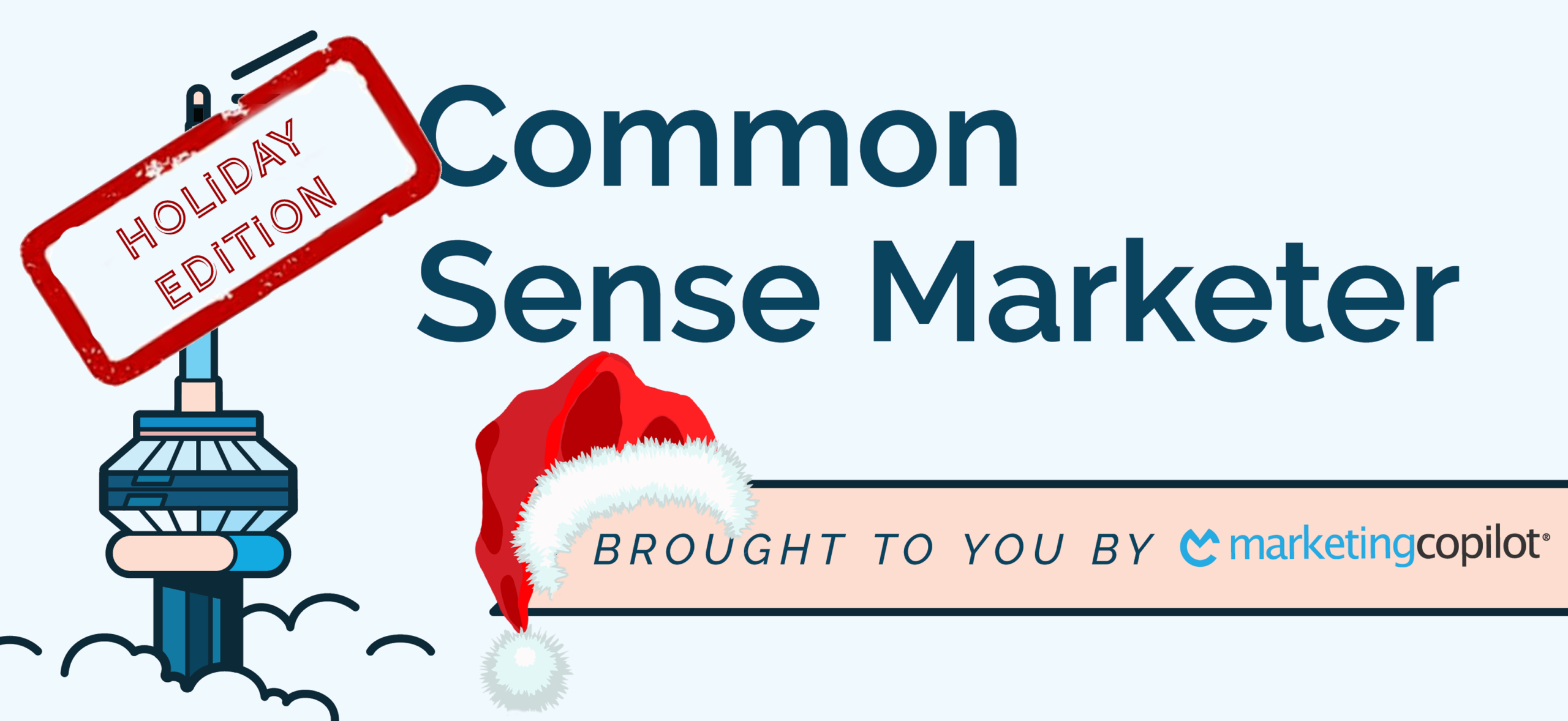Holiday Edition of Common Sense Marketer Podcast with Mrs. Claus